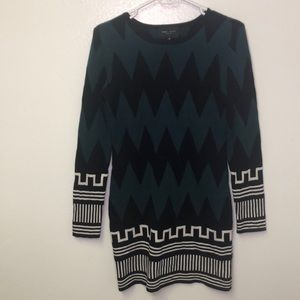 Romeo + Juliet abstract print sweater dress